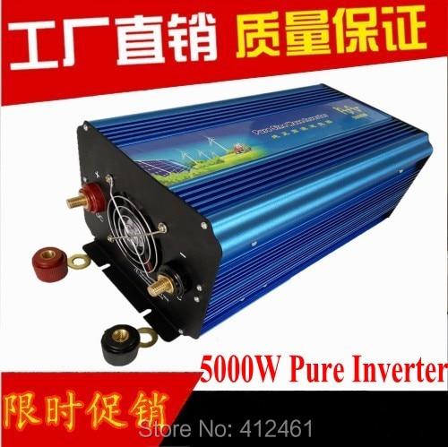 DC 12 V/24 V to AC 230 V/120 V/220 V/230 V/240 V 5000 W Inverter Onda Sinusoidale Pura, Inverter di potenza 5000 W Puro sinusgolf omsetterDC 12 V/24 V to AC 230 V/120 V/220 V/230 V/240 V 5000 W Inverter Onda Sinusoidale Pura, Inverter di potenza 5000 W Puro sinusgolf omsetter