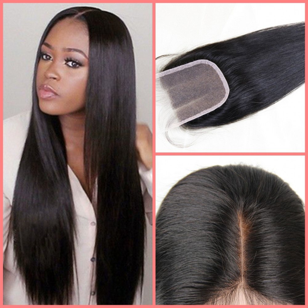 Affordable Brazilian Hair Lace Closure 5*5 Straight Lace
