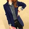 Autumn Small Suit Korea Latest Style Women Fashion Suits Long sleeve Lapel Suit Big yards Slim Office Ladies Leisure Suit G2671
