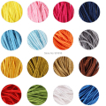 16 Colors 34 yards/lot(31Meter) Approx.3mm Chinese Soutach Snake Belly Nylon Rope Cord DIY Jewelry Material Accessories F1991