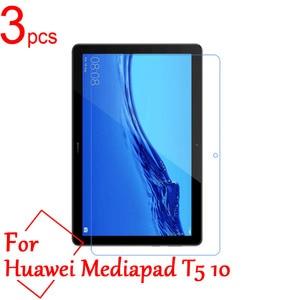 3 pçs ultra claro/fosco/nano anti-explosão lcd protetor de tela capa para huawei mediapad t5 10 10.1 polegada tablet película protetora