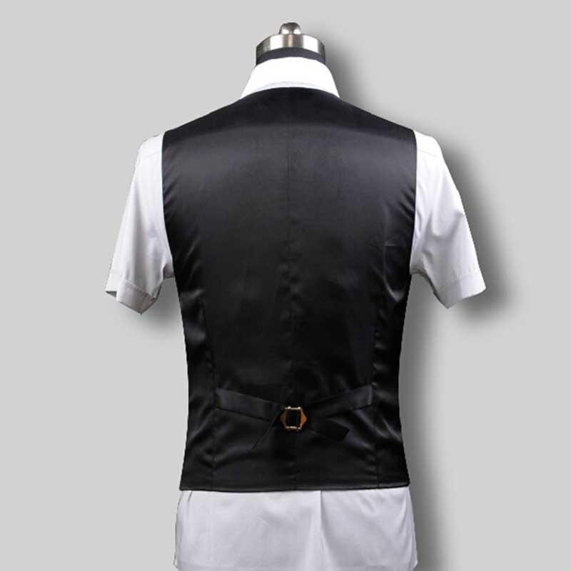 Casual Qualité Plus Bouton 5 Minceur gris Gilet Splice S Hommes Mariage Noir Taille De Haute Costumes Col V Bleu Bureau D'affaires 6xl Gilets La marine A5dqn