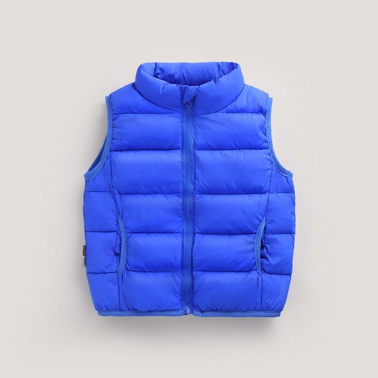 Baby Weste Unten Warm Verdicken Winter Weste Rollkragen Windjacke Jacke Kinder Jungen Weste Weste Mädchen Für Winter Mantel