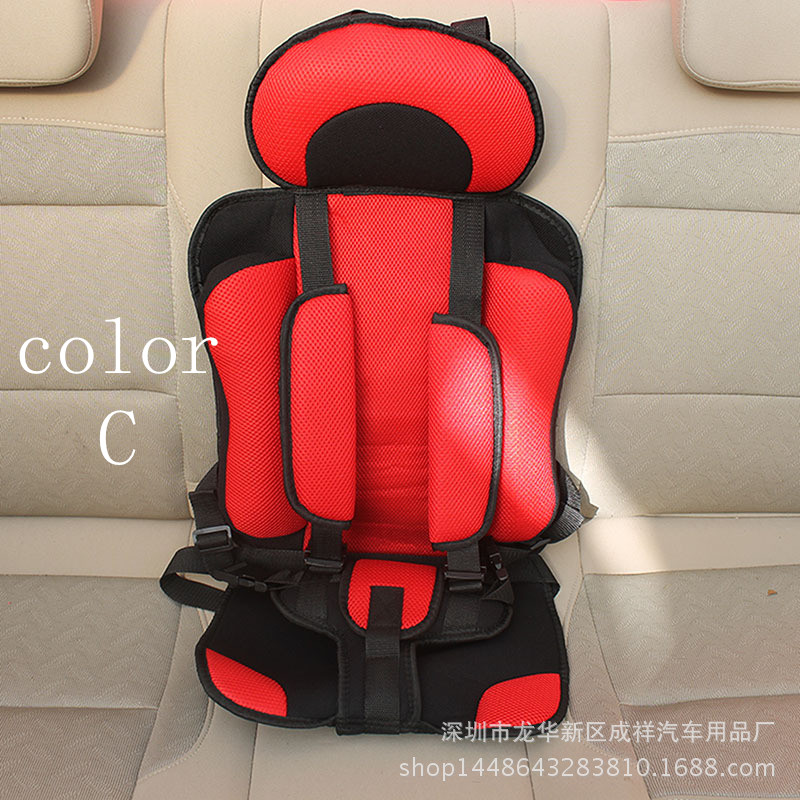 Convertible Portable baby safety seat Childrens Chairs in the Car,Updated Version,Thickening Sponge cotton Kids comfortable