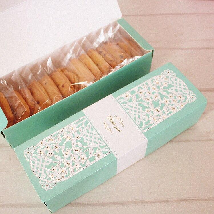 ▻Nuevo 21,5*6,8*4 cm 10 piezas Macarons torta verde Macaron ...
