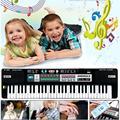 Nuevo 61 teclas digitales regalo de música para teclado electrónico teclado de piano eléctrico instrumento musical toys regalo para los niños