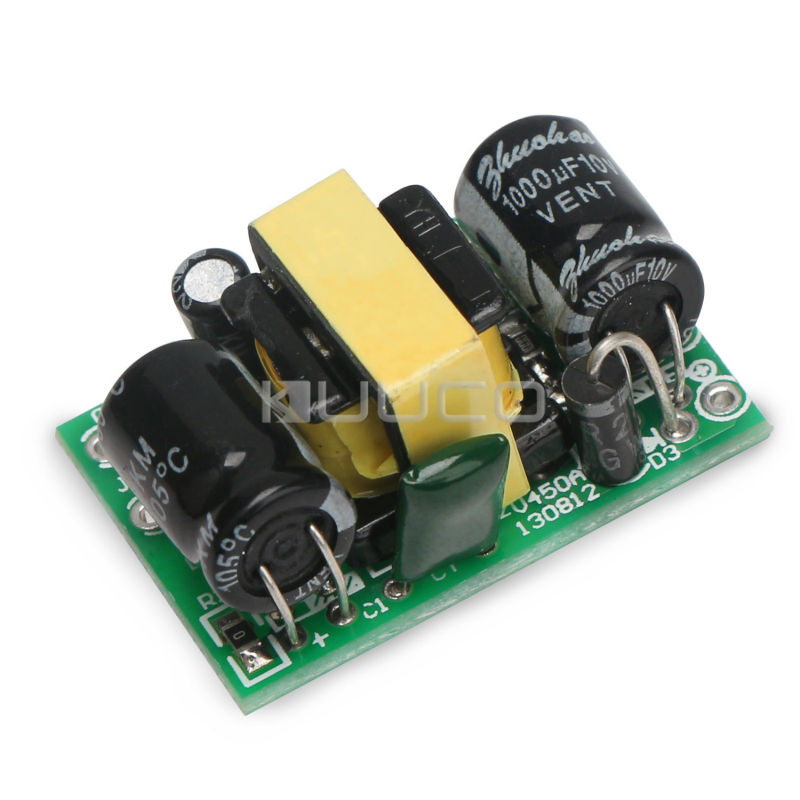 2W Adapter <font><b>AC</b></font> 90~240V 110V/<font><b>220</b></font> to <font><b>DC</b></font> <font><b>5V</b></font> 400mA Switching Power Supply/Buck Voltage Regulator/ Power Converter /Drive <font><b>Module</b></font> image