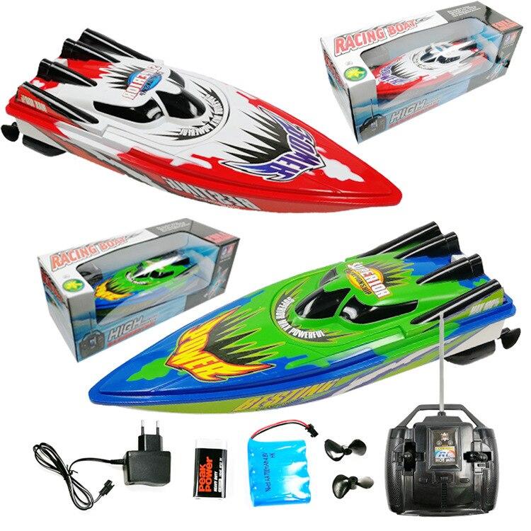 Bateau télécommandé bateau étanche hors-bord surdimensionné bateau jouet charge navire refroidissement par eau