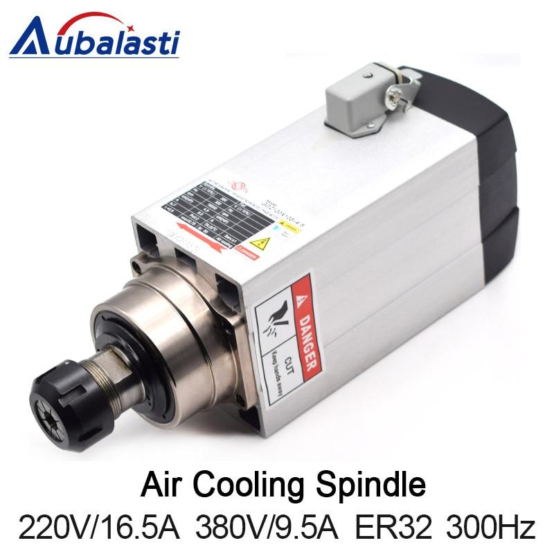 4.5KW broche CNC routeur broche moteur refroidi par Air broche 380 V P4 portant ER32 moteur broche pour CNC fraiseuse