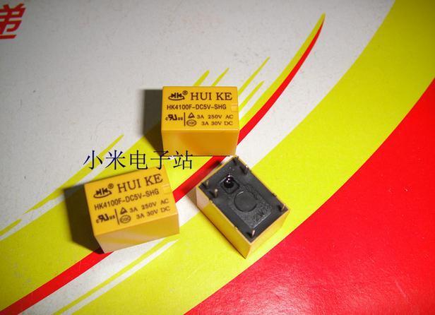 Free shipping HUI relay   HK4100F HK4100F-DC5V-SHG DIP-6  3A 5V RELAY 10pcs/lot