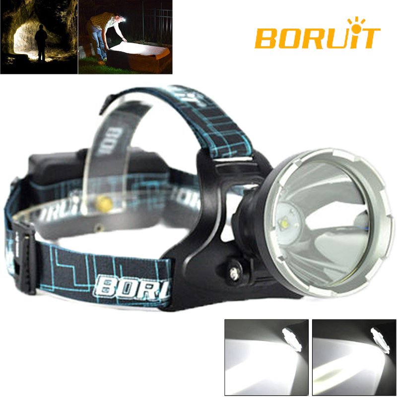 Nowy BORUiT Smart B10 Original Cree XM-L2 Latarka LED Head Fishing Latarka LED z głowicą wędkarską