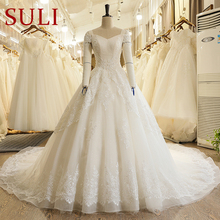 H615T Country Off the Shoulder Tulle Lace Applique Backless Wedding Dress  2018(China) 23fd2ddf44a1