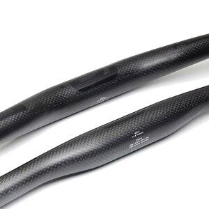 Image 5 - Ullicyc friber In Carbonio MTB Della Bicicletta Manubrio Piatto o Aumento Del Manubrio Mountain parti della bici 31.8*580/600/620/640/660/680/700/720/740