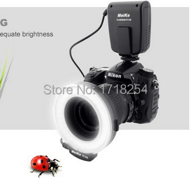 Meike fc-macro ring flash/luce per nikon d7100 d7000 d5200 d5100 D5000 D3200 D3100 D3000 D800 D600 D300s D200 D90 D80 D60