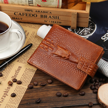 Men Wallets Famous Brand Baellerry Male Genuine Leather Crocodile Credit Card Holder Purse Coin Money Bag Wallets And Purses