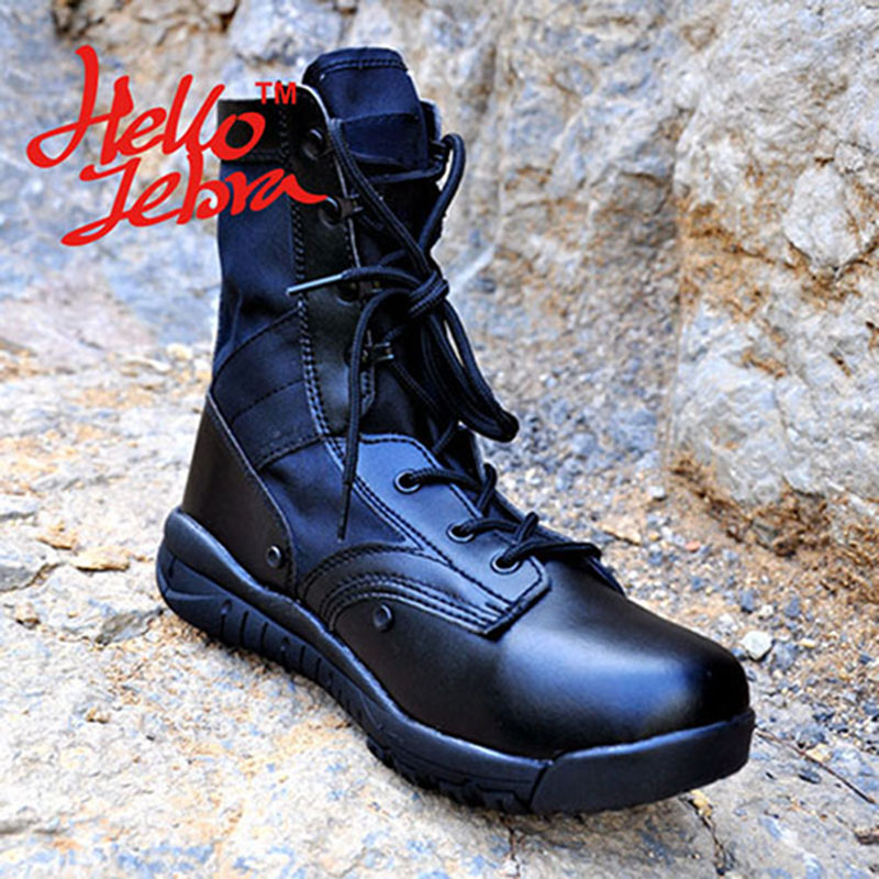 Tactical Boots Lightweight Combat Outdoor Jungle Boots Military Desert Outdoor Shoes Waterproof Breathable Wearable Boots Hiking цена