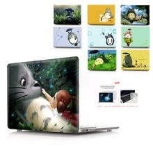 color printing shell notebook case for Macbook Air 11 13 Pro Retina 12 15 inch  New or Totoro