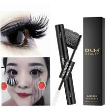 98bebcfbca3 2 in 1 Mascara Waterproof Lengthens Eye Lash Black White Rimel 4d Curling  Maskara Volume 4D Silk Fiber Eyelash Mascara