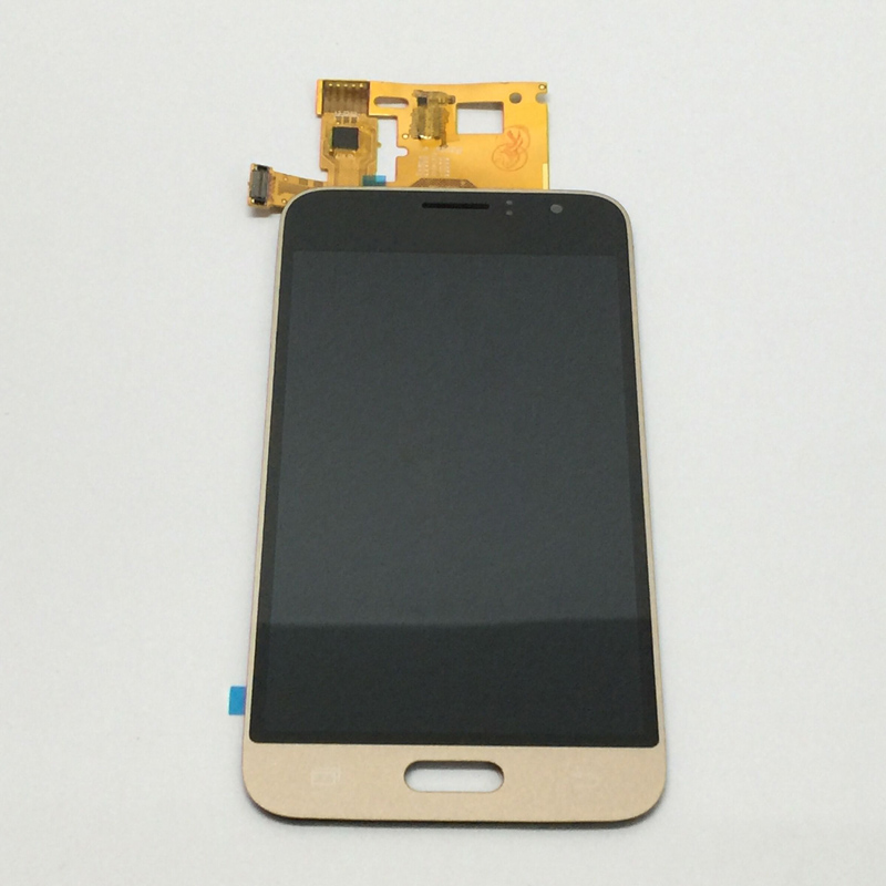 5pcs Gold For Samsung Galaxy J1 2016 J120F J120H J120M J120 LCD Display Panel Module + Touch Screen Digitizer Sensor Assembly
