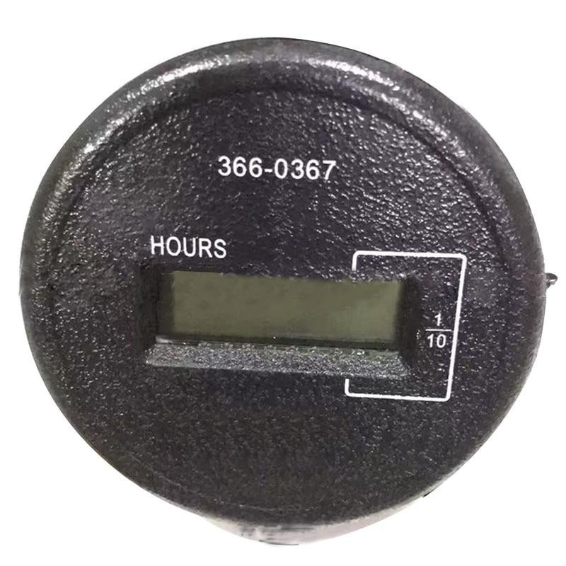 Timer Control Panel Gauge 366-0367 Hour Meter 3660367 Timer Control Panel Gauge 366-0367 Hour Meter 3660367