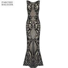 Новое поступление года; модные вечерние платья без рукавов с блестками и круглым вырезом; Сетчатое длинное платье