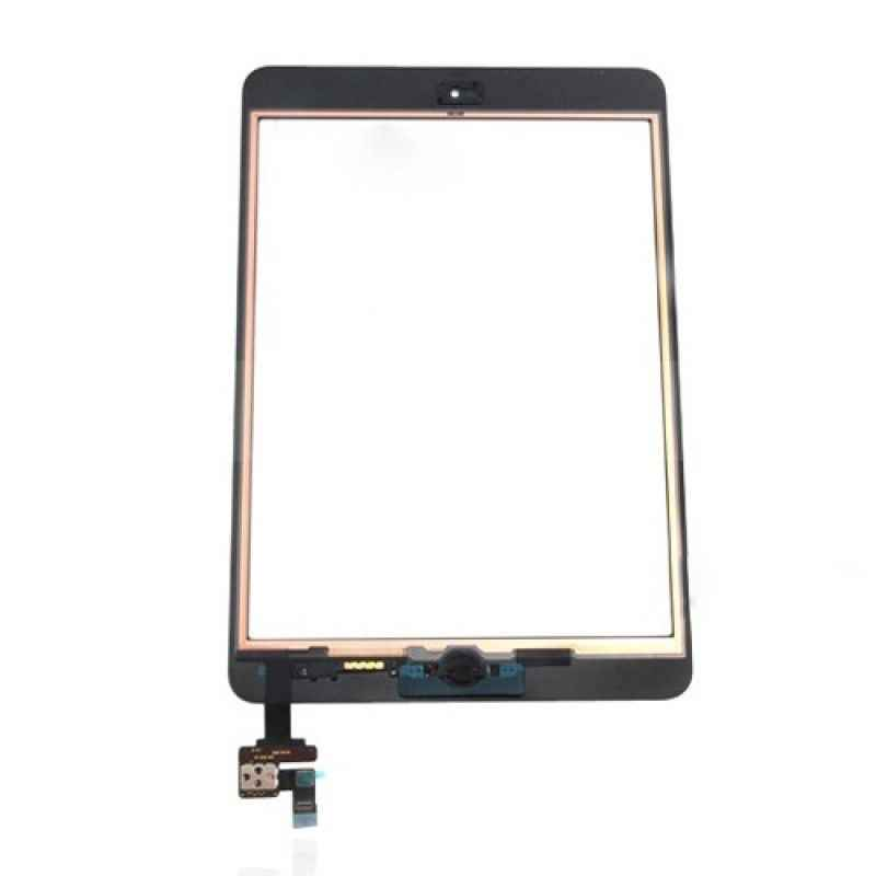 أسود شاشة تعمل باللمس ل باد البسيطة 1/2 A1432 A1454 A1455 A1489 محول الأرقام غيار للشاشة + IC