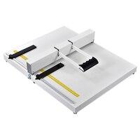 A3 / A4 formato tampa recuo máquina largura da indentação 35CM Vinculativo Máquina Manual de máquina de dobrar papel capa dobrável