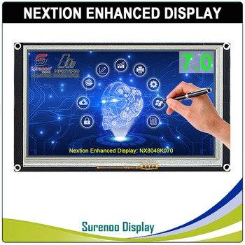 7,0 NX8048K070 Nextion Enhanced HMI USART UART последовательный резистивный сенсорный TFT ЖК-дисплей модуль дисплей Панель для Arduino Raspberry Pi >> Surenoo Store