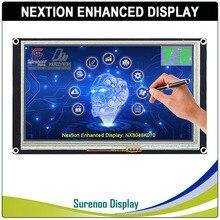 "7.0 ""NX8048K070 Nextion تعزيز HMI USART UART المسلسل مقاوم اللمس TFT وحدة عرض LCD لوحة لاردوينو التوت بي"