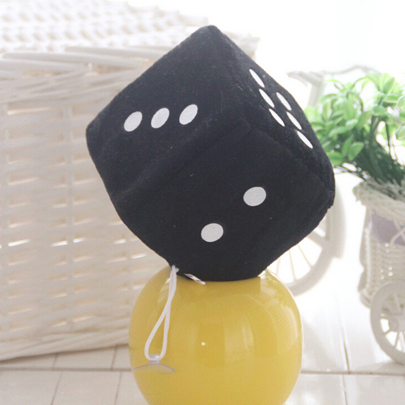 Hot Selling  Creative Dice Cloth Doll Pillow Plush Toys Children's Activities Fun Games Props Children Birthday Gift 10cm
