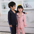 Children kids Pajamas Sets Girls boys Pyjamas Kids 100% Cotton Long Sleeve Pijamas teenage boys Girl Sleepwear Pijama Mujer