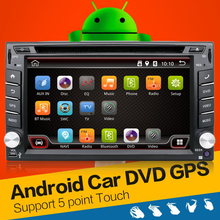 Android4.4.4 2DIN Car Stereo Audio Wifi GPS Radio FM Bluetooth USB SD de Navegación Por Carretera Auto Universal Headunit Player Car styling