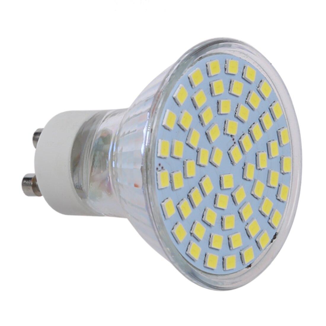 CNIM Hot 10X 5W GU10 3528 SMD 60 LED Pure White 6500K Spot Light Light Bulb Lamp 220V New