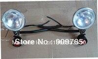 Free Shipping 1 Set Amber Driving Turn Signal Lamp Passing SpotLight 35w Lights Bar For Kawasaki