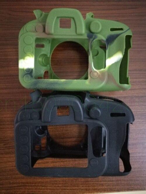 Souple En Caoutchouc de Silicone De Protection Caméra Corps Peau de Cas de Couverture pour D610 D600 D750 D7000 D7100 D7200 D5100 D5200 caméra sac cas