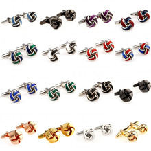 Najbardziej popularne 16 wzorów metalowych węzłów ENAMEL cufflink mankiet link Darmowa wysyłka tanie tanio Tie Clips Cufflinks Moda Cuff Links YH034 Stone Mężczyzn Klasyczny Simulated-pearl Stal nierdzewna Various