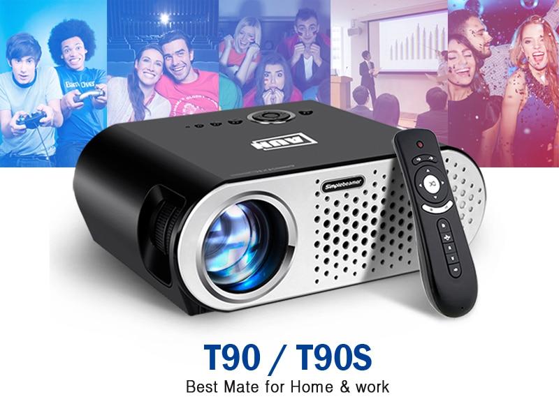 Projector 3200 Lumen T90, 1280*768 Projector