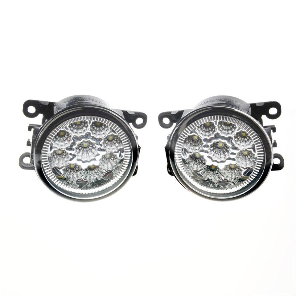 Pour Citroen C3 C4 C5 C6 C-Crosser Xsara Picasso 1999-2015 6000 k 12 w CCC E2 LED Feux de Brouillard DRL Lampes 2 pcs