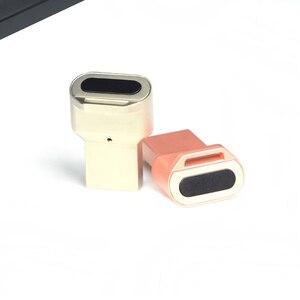 Image 3 - USB صغير قارئ بصمات الايدي وحدة جهاز التعرف على ويندوز 10 مرحبا مفتاح الأمن البيومترية 360 اللمس