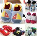 2016 de algodão Bebe primeiros caminhantes crianças Prewalker princesa sapatos de criança sapatos de sola macia bonito do urso