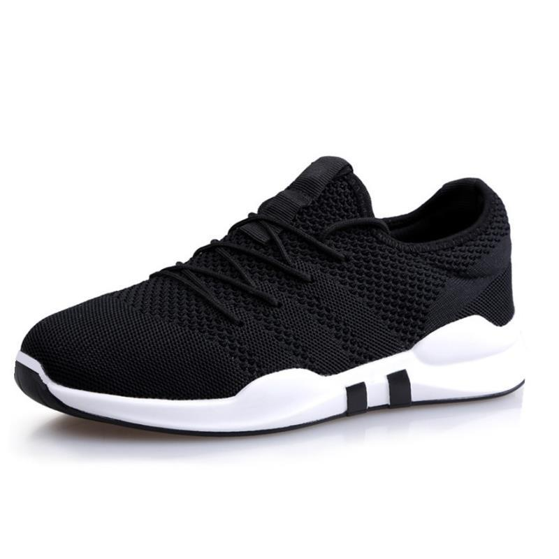 KUYOMENS Brand Summer Men Socks Sneakers Breathable Mesh Male Casual Shoes Lace Up Sock Shoes Loafers Boys Super Light Trainers