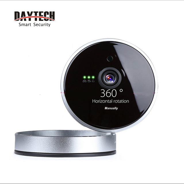 Daytech Night Vision CCTV Camera 720P Wifi Camera Motion Detection Two Way Audio P2P Security IP Camera Infrared Wireless 8814