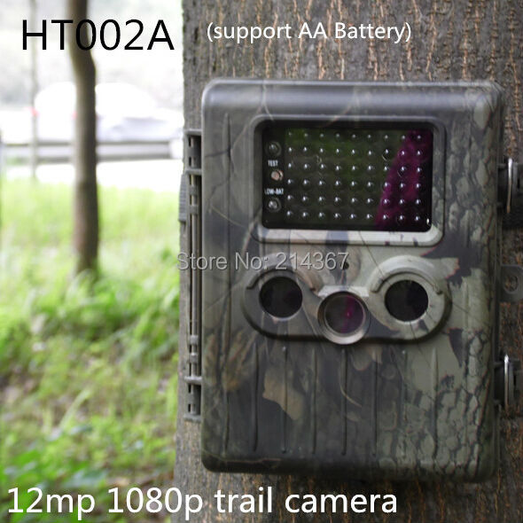 Suntek HT002A Wild Animal Scouting Hunting Cameras for Hunter CamerasFree Shippping hc300 suntek 0 8s trigger time hunting scouting cameras support 6 monthes power life