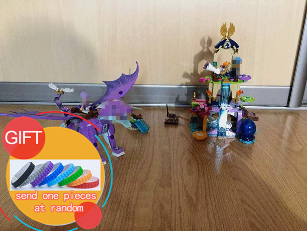 10549 591pcs Elves The Dragon Sanctuary model building kit Blocks Brick  Compatible with 41178 children Toys lepin сковорода гриль со съемной ручкой 26 см биол 1026с