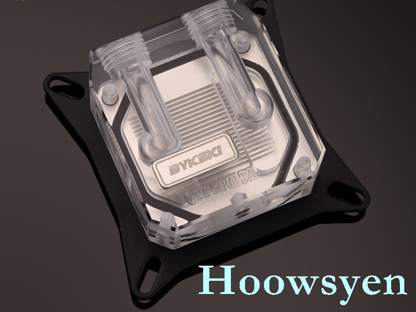 GPU-XPM card water cooling core water head POM+ acrylic version