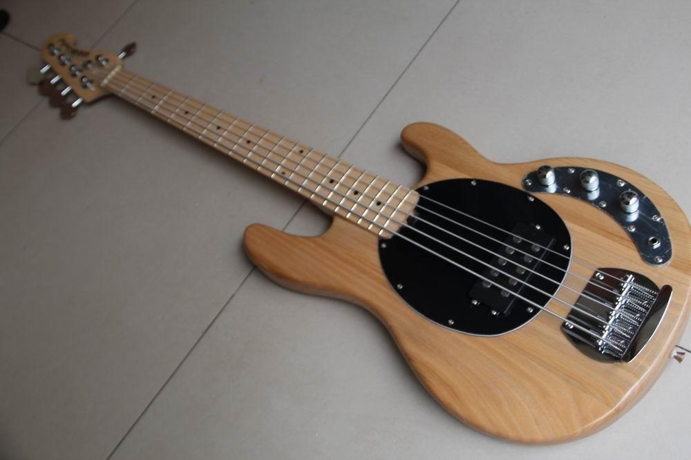 Musicman Bass 5 Strings Erime Ball StingRay Electric Guitar Natural Free Shipping 120308 чехол для планшета it baggage для memo pad 7 me572c ce красный itasme572 3 itasme572 3