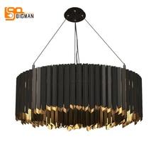 Lámpara led de acero inoxidable para sala de estar