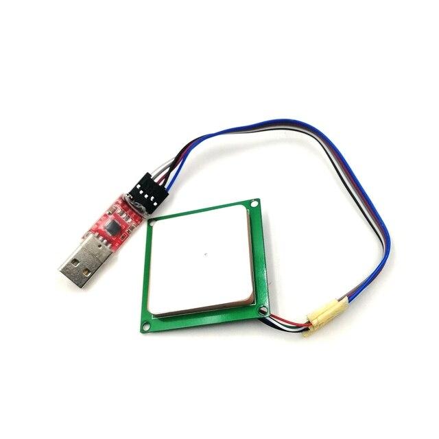 Lector UHF de largo alcance de 0 3M, módulo de escritor integrado, 865 868MHz, 915mhz, 902 928MHz, Uart pasivo 6C UHF con SDK