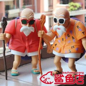 Animação Garagem Kid Crianças De Dragon Ball Brinquedos Do Bebê: figura de ação PVC Dolls Modelo Mestre Kame & Kame Sennin Excelentes Presentes