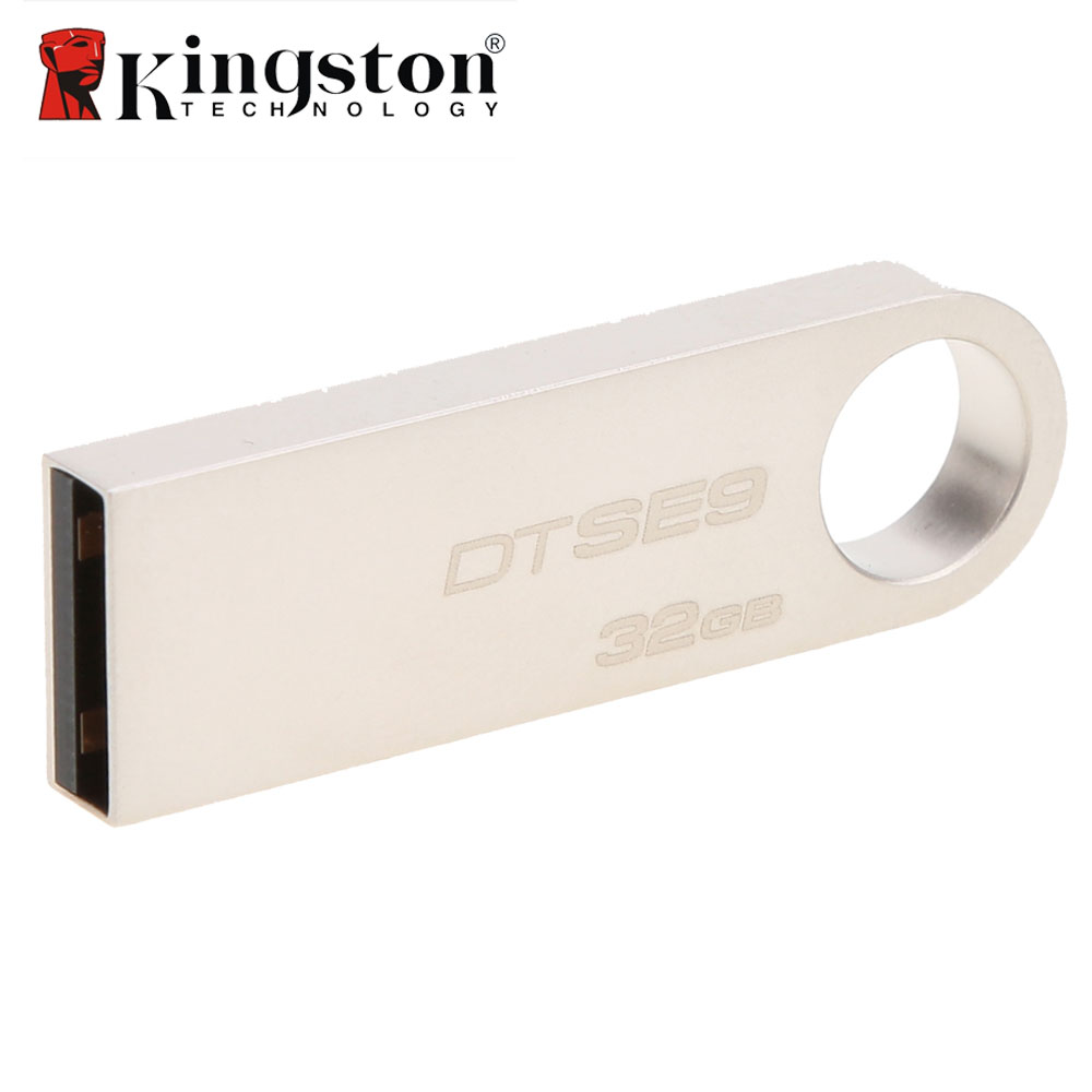 Kingston DTSE9 USB Flash Drive Metal Mini Key USB Stick 8GB 16GB 32GB Memory Storage Stick USB Pendrive Flash Pen Drive Memory